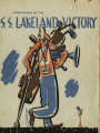 Program for the launch of the SS Lakeland Victory